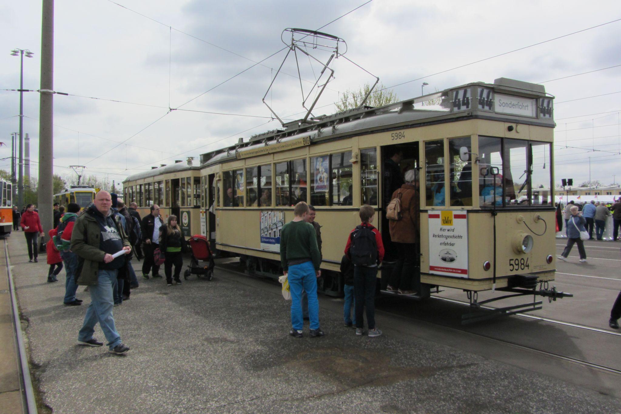 alte Berliner Tram